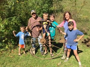 Farm Family Finds Buried Treasure Group last Pic
